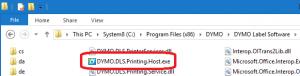 Executable location (Windows)